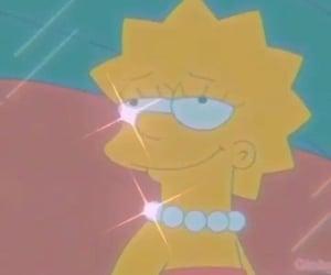 glitter, lisa, and simpson image