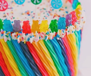 cake, candy, and food image