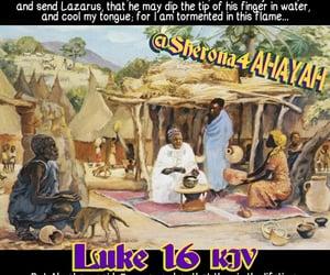 Abraham, bible, and hades image