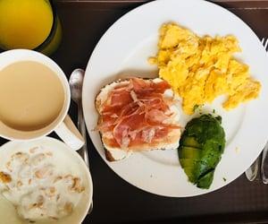 avocado, orange juice, and breakfast image