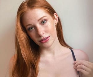 freckles, ginger girl, and redheads image