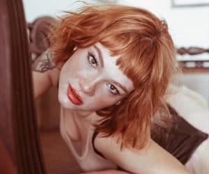 bangs, ginger, and redheads image