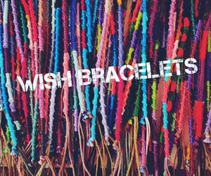 bracelet, friendship, and hippie image