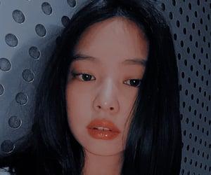 kim, red lipstick, and kpop image