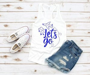 fashion, tanktopcasual, and tank image