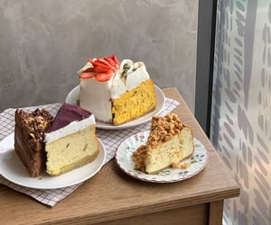 cafe, cake, and cream image