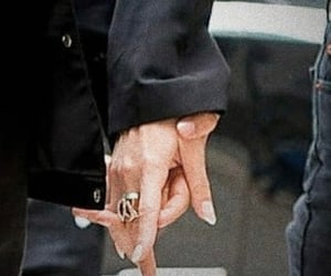 couples, hands, and love image