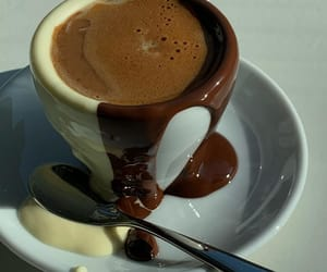 brown, cafe, and chocolate image