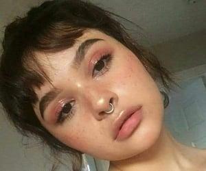 beauty, gloss, and pink image