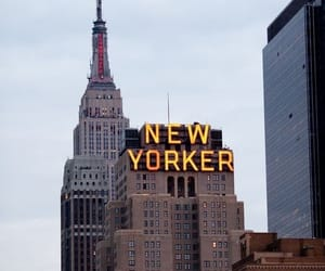 new york, america, and city image