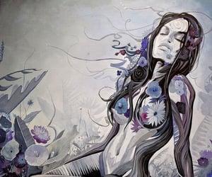 art, beautiful, and feminine image