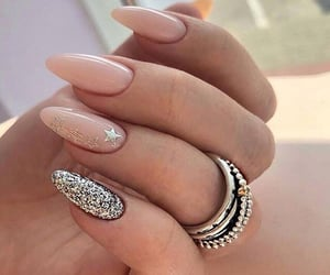 glitter, sparkle, and manicure image