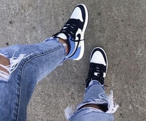 denim, jeans, and nike image
