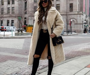 blogger, boots, and skinny jeans image
