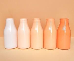 orange, aesthetic, and bottle image