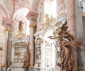 library, aesthetic, and book image