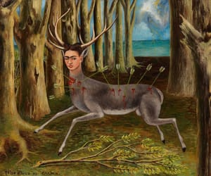 art history, surrealism, and the wounded deer image