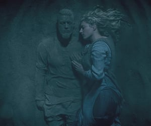 serie, lagertha, and vikings image