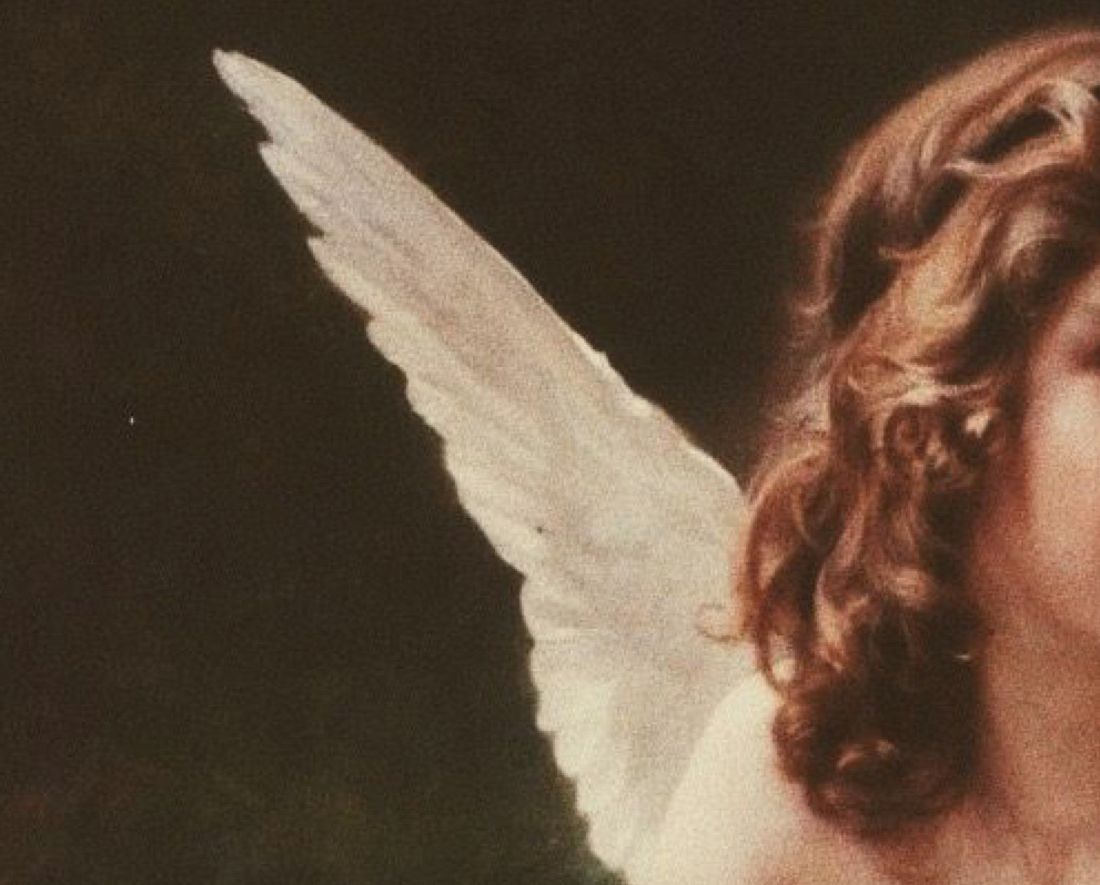 angel, aesthetic, and wallpaper image