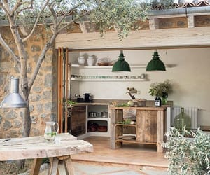 outdoor, rustic chic, and earth house image