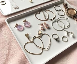 accessories, earings, and necklaces image