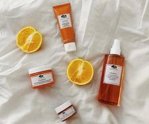 london, orange, and skincare image