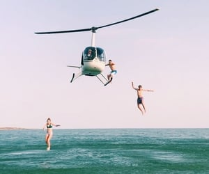 excited, summer, and friends image