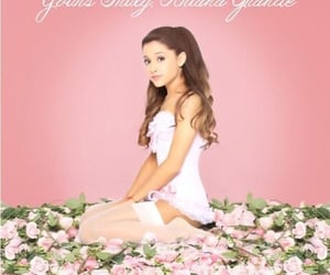 flowers, the way, and ariana grande image
