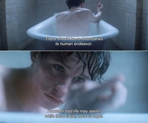 the theory of everything, quotes, and movie image
