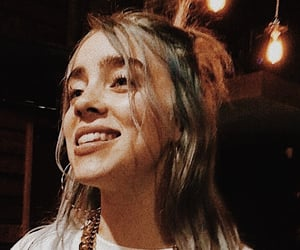 billie, music, and smile image