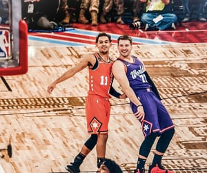 allstar, NBA, and luka image
