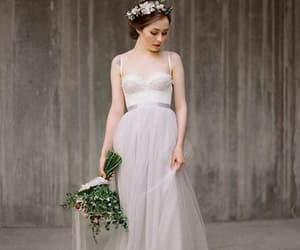 backless, lace, and applique image