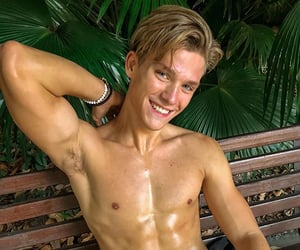 abs, boys, and eyes image
