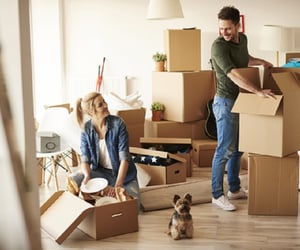 moving services and moving home image