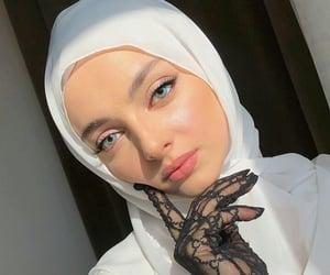 beauty, dz, and muslim girl image