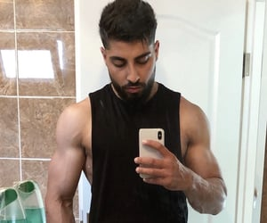 hot guys and arabic men image