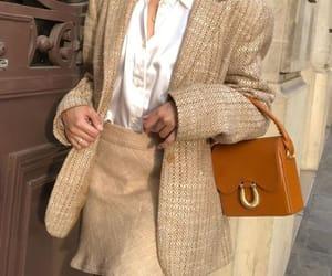 blazer, skirt, and earings image