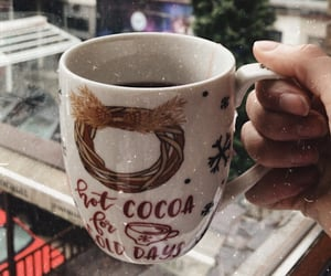 cold days, hot cocoa, and february image