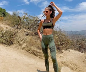 body, hiking, and summer image