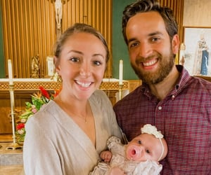 Baptism, Catholic, and family image