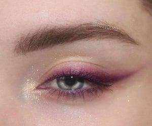 eye, makeup, and beautiful image