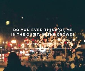 crowd, mumford and sons, and Lyrics image