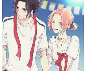 anime, blackhair, and naruto image