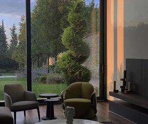 aesthetics, garden, and sunrise image
