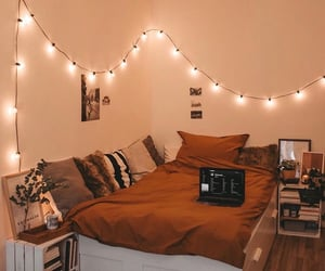 cozy, home, and bed image