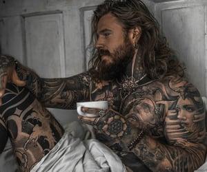 men, tatoo, and tatouages image