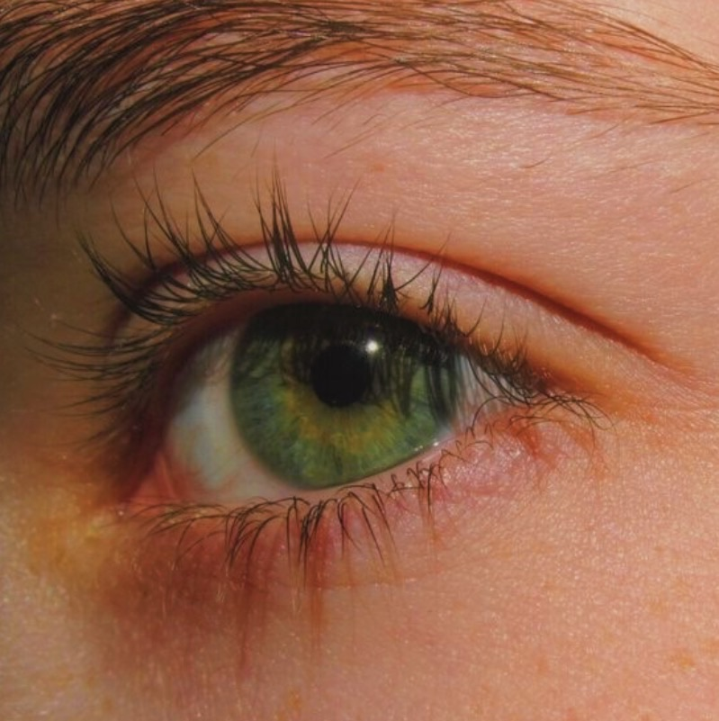 eyes, green, and aesthetic image