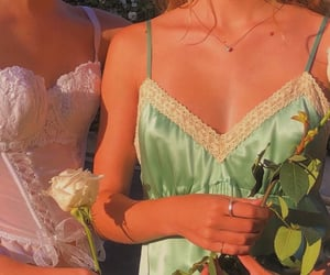 aesthetic, lingerie, and rose image
