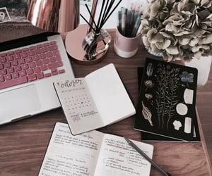 aesthetic, college, and studyblr image