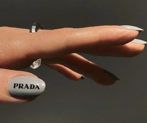 manicure, Prada, and nail polish image
